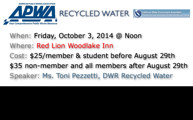 Recycled Water - Sponsored by Michael L. Johnson, LLC